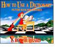 Order How to Use a Dictionary Picture Book On-line